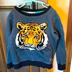Organic Cotton Tiger Sweater in mint condition